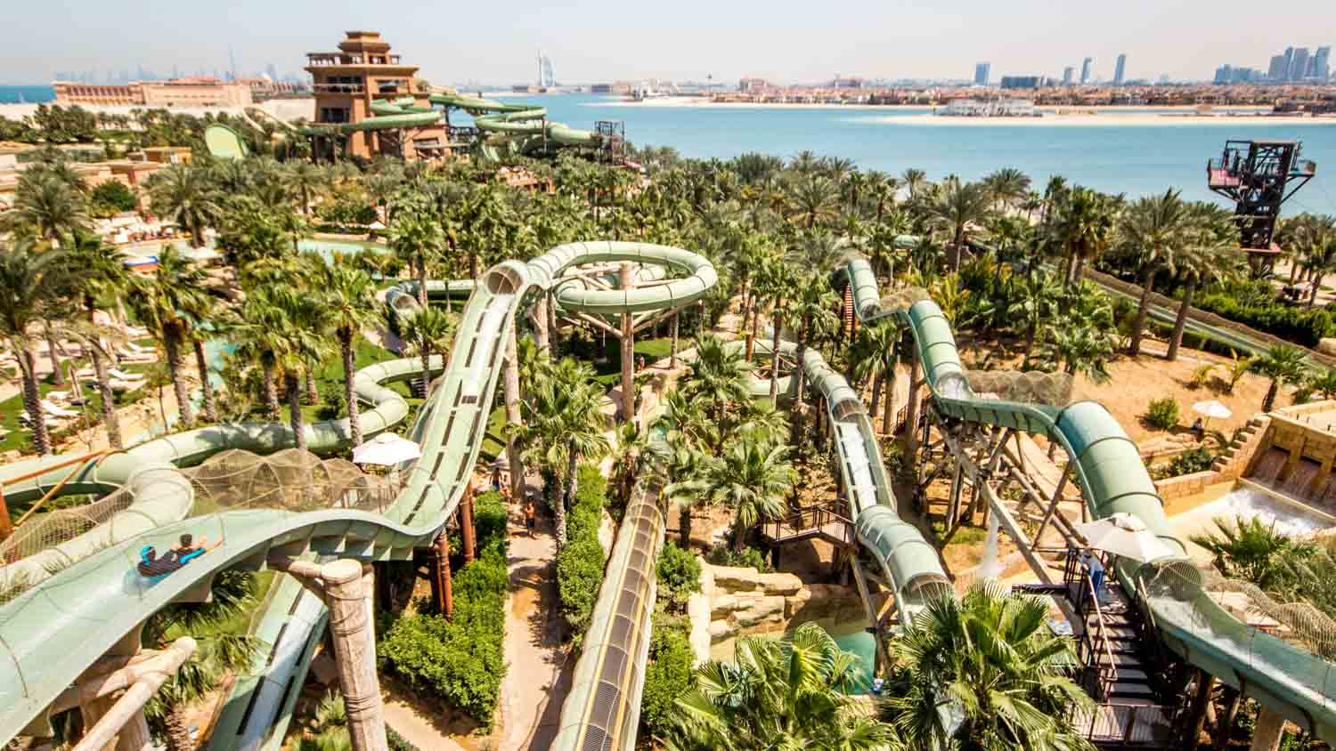 ATLANTIS – THE AQUAVENTURE – VODNÝ RAJ V DUBAJI