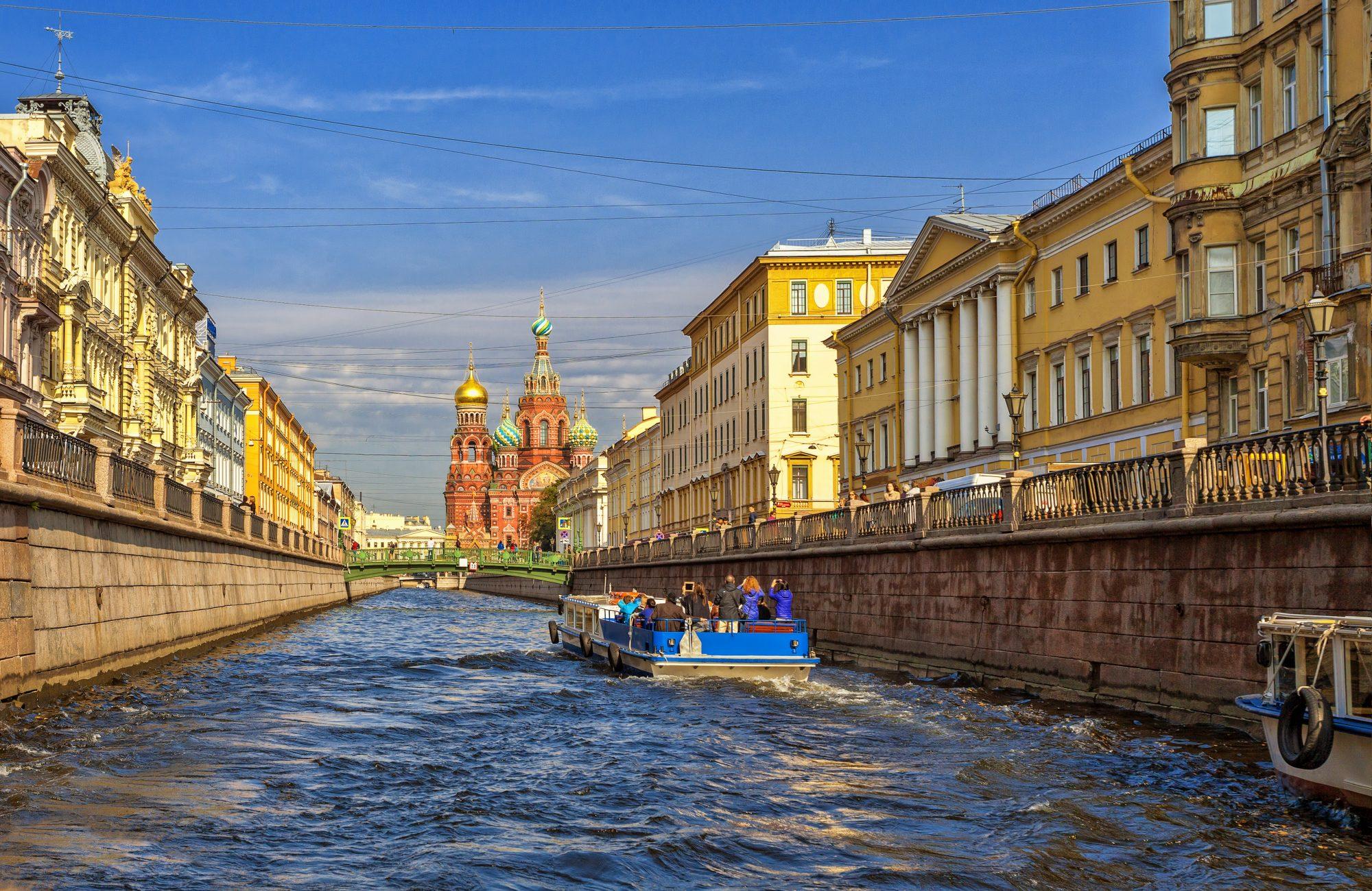 Poldenný výlet Petrohrad