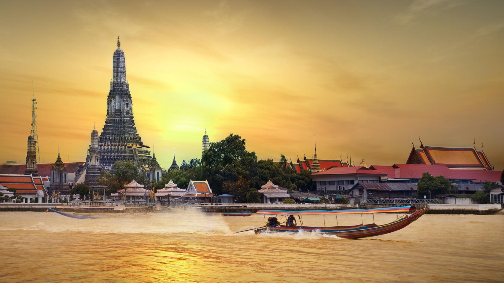 Celodenný okruh Bangkokom