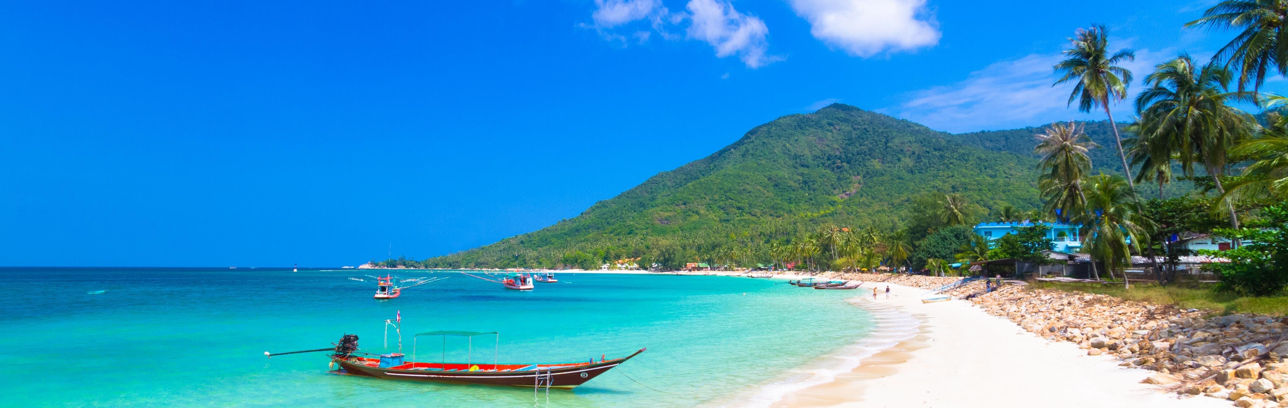 Okruh ostrovom Ko Phangan