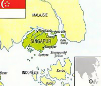 singapur mapa sveta Singapur   dovolenka s ESO travel singapur mapa sveta