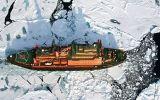 Na palubě největšího atomového ledoborce světa: Jak probíhá cesta na severní pól?