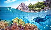 Pět nejkrásnějších lokalit pro potápění: Kde s vámi příroda sehraje tu nejkouzelnější hru