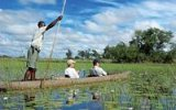 Fascinující delta Okavango: Podívejte se tam, kde řeku pohlcují písky Kalahari