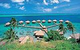 Polynéský ostrov Huahine je rájem pro cestovatele a surfaře