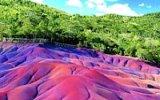 Sedmibarevné duny na Mauritiu: Nikdo neví, jak přesně vznikly