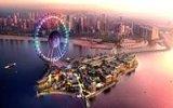 V Dubaji roste největší vyhlídkové kolo světa – Dubai Eye na umělém ostrově