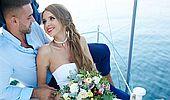 Romantika na vlnách: Jak vypadá svatba na lodi