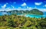 Thajsko v obrazech: Sledujte fotky ze země pláží, kde dávají nejdelší polibky