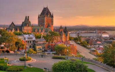 Kanada | Quebec City - Chateau Frontenac
