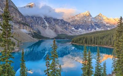 Kanada | Inkoustová modř jezera Moraine...