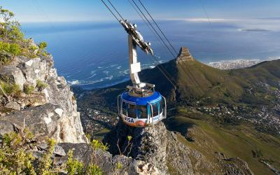 Lanovka na Stolovou horu | Cape Town