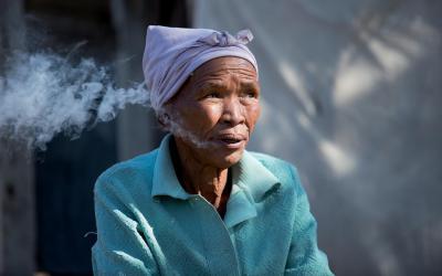 U křováků... | Namibie