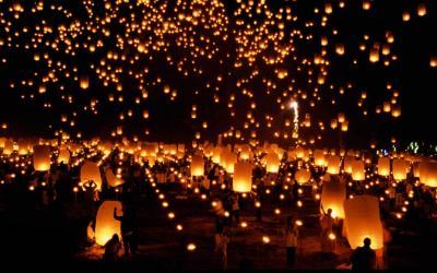 Thajsko | Chiang Mai_ Lantern festival