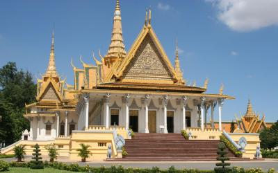 Phnom Pehn - Royal Palace