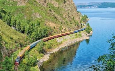Vlak | Bajkal Lake