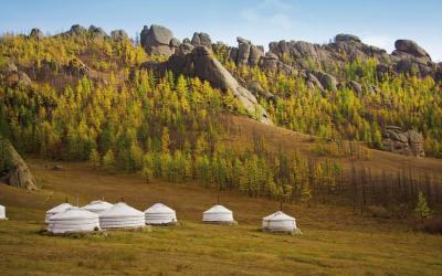 Mongolsko | Jurta