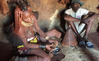 Namibie | návštěva Himbů