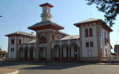 Antsirabe budova nádraží | Madagaskar - Antsirabe 2