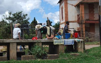 Ambalavao praní prádla | Madagaskar - Ambalavao 4