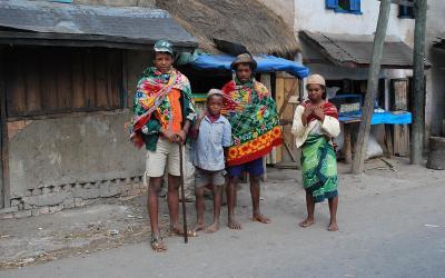 19 oblečení kmene Batsileo
