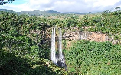 Vodopád | Mauritius  Chamarel