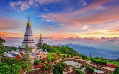 Thajsko | Chiang Mai_Phra Maha Dhatu