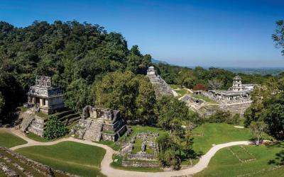 Palenque panorama