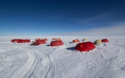 Ubytování na jižním pólu (pouze termín s noclehem)