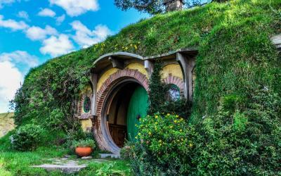 Bilbo Baggins House, Hobbiton | Nový Zéland