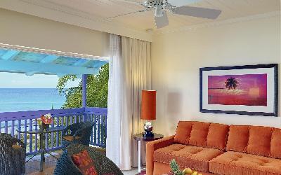 pokoj One bedroom ocean view suite 2 | 760 Crystal Cove