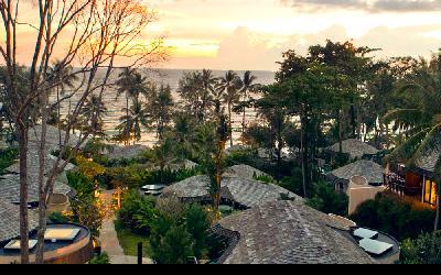 beach-resort-sunset-view