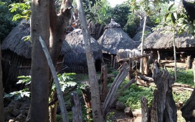 Vesnička kmene Konso | Etiopie
