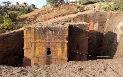 Lalibela - kostel Sv. Jiřího | Etiopie