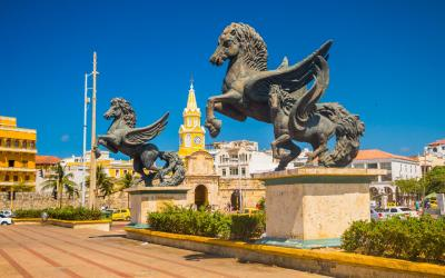 Los Pegasos Sculpture   Chile