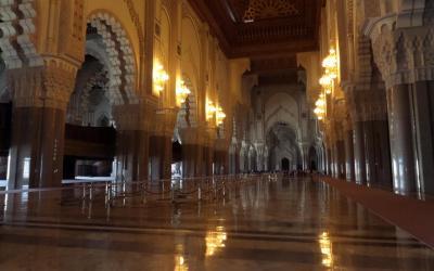 Mešita Hassana II. interiér | Maroko