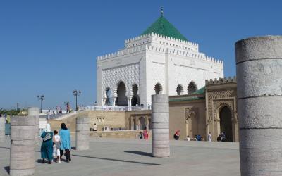 Mauzoleum Mohammeda V. | Maroko