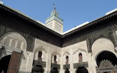 Medresa Attarine ve Fesu | Maroko