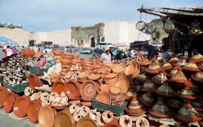 Meknes, brána Bab Mansour | Maroko