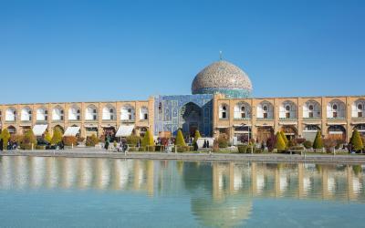 Sheikh Lotfollah Mosque at Naq   Írán