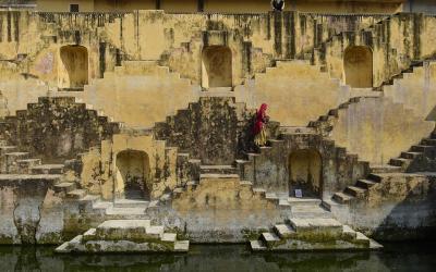 Chand Baori at Jaipur   Indie