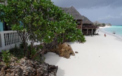 Pláž v Nungwi
