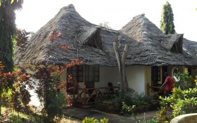 Pokoje Standard Garden zvenčí | Langi Langi Bungalows