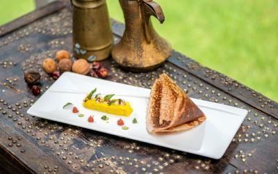 Al Bustan Palace A Ritz-Carlton Hotel - Food Presentation