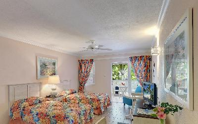 pokoj superior studio s výhledem do zahrady | 760 Butterfly beach