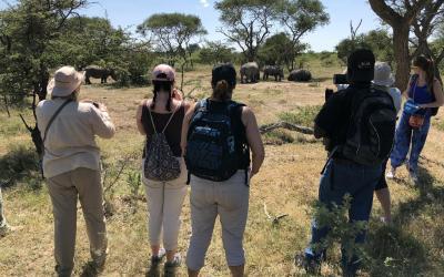 stopování nosorožců | Matobo Hills NP