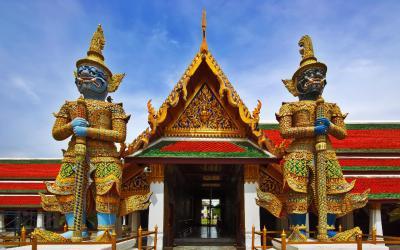 Bangkok Kralovsky palac 2