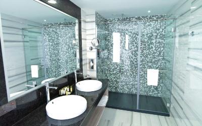 Koupelna v standardnim pokoji