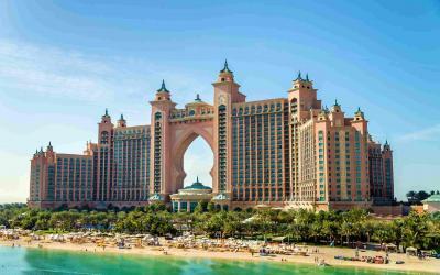 Atlantis hotel at The Palm