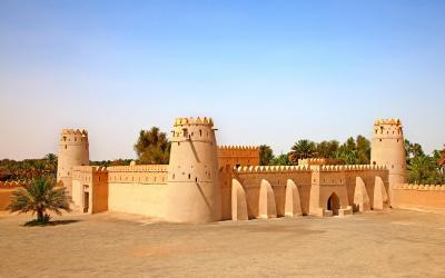Pevnost Jahili v Al Ain oasis